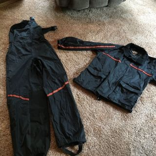 Harley Davidson Rain Suit. Women's size Small