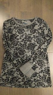 Ladies Light weight Columbia Shirt with embossed black pattern