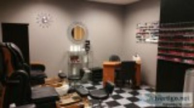 Hair Salon Booth-Rental Station Available