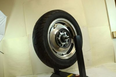 Sell Yamaha VMX12 Vmax Rear Wheel Rotor and Tire 1986 motorcycle in Fort Worth, Texas, United States, for US $109.00