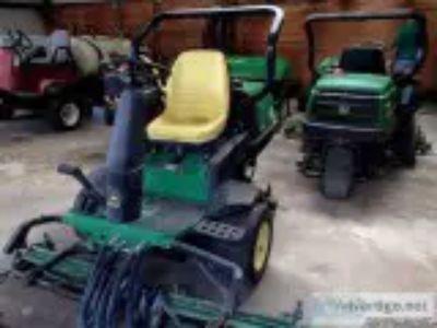 John Deere Greens Mowers