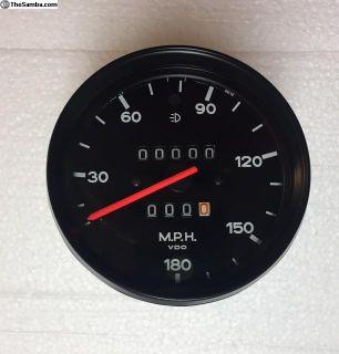1974 Porsche RSR 180 MPH Spoeedometer 91164150629