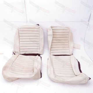 Buy Corvette LH & RH Seat Back & Bottom Seat Cover Car Set White Vinyl 1965-1967 motorcycle in Livermore, California, United States, for US $124.97