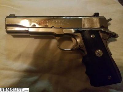 For Sale/Trade: 1982 Colt 70 series 1911 45 caliber.