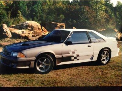 1988 Mustang GT, turbo charged 5.0