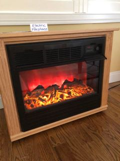 Amish Crafted Fireplace