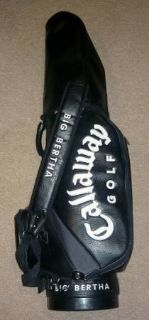 Callaway Big Bertha Golf Bag - 6-Way Staff Bag w/Hood