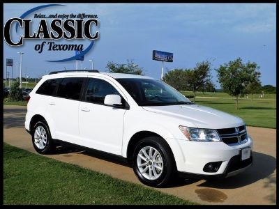 2017 Dodge Journey SXT (white)
