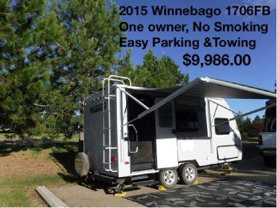 Buy from the Owner - 2015 Winnebago Micro Mini 1706FB