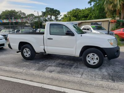 2011 Toyota Tacoma Base (White)