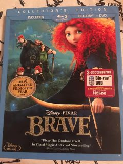 Brave dvd and blue ray disc