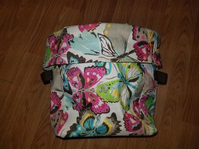 Thirty-One tote needs washed or inside wiped out