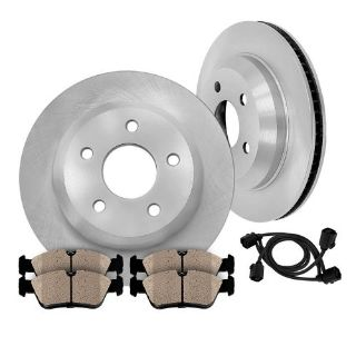 Sell Rear Quality OE Brake Disc Rotors and Ceramic Pads Kit BMW E61 530XI 2006 2007 motorcycle in Orland Park, Illinois, United States, for US $94.71