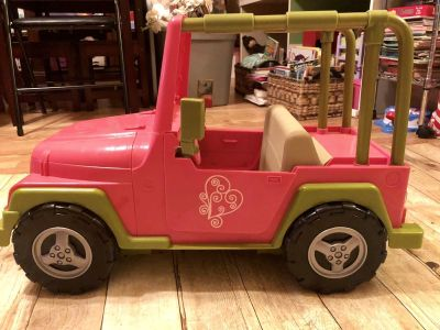 Our generation brand for 18inch doll or American Girl Jeep EUC $12 swipe for more pics