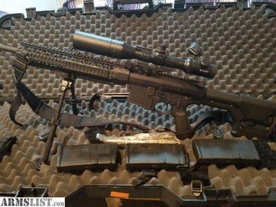 For Sale: Black rain ordnance Fallout AR10. 308