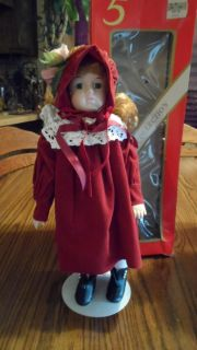 Hand painted, Bisque Porcelain Doll