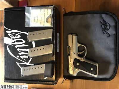 For Sale/Trade: Kimber solo 9mm