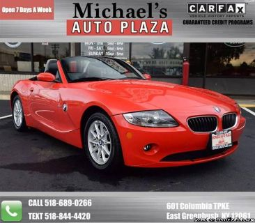 2005 BMW Z4 2.5i 2dr Roadster! One Owner! Clean Carfax! We Finance! Trades Welcome! Stock#11393