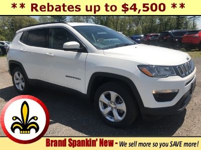 2019 Jeep Compass (White)