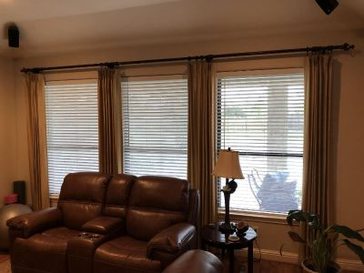 JCPenney Home fully lined curtains 95