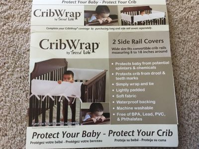 Crib wrap- front and sides- protects baby and crib