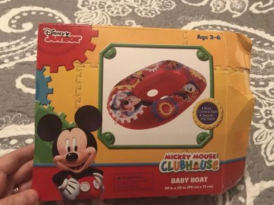 Mickey Mouse baby boat