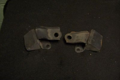 Sell 67 68 69 Firebird Rear Bumpstops OEM Used Brackets Hot Rod Rat Rod motorcycle in Euclid, Ohio, US, for US $39.95