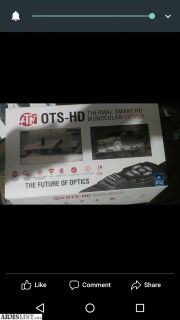 For Sale: ATN OT Thermal HD