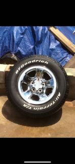 17 dodge wheels and tires. Great condition