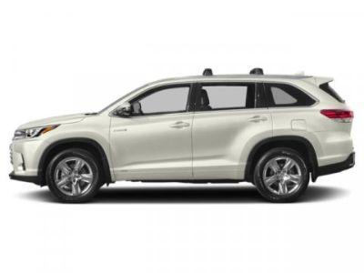 2019 Toyota Highlander Hybrid XLE (Blizzard Pearl)