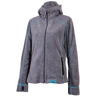Sell Yamaha Womens Divas Snow Gear Hooded Fleece Gray/Blue Medium motorcycle in Maumee, Ohio, United States, for US $52.99