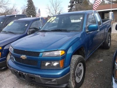 2009 Chevrolet Colorado Work Truck (Black)