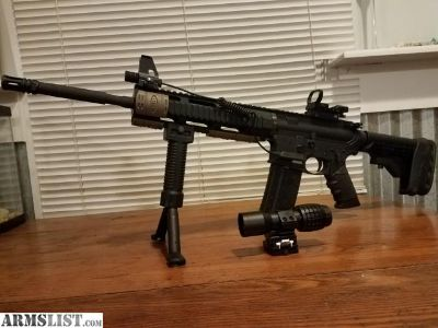 For Sale/Trade: Customized built AR-15 brand spankin new