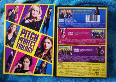 Pitch Perfect Trilogy DVDs