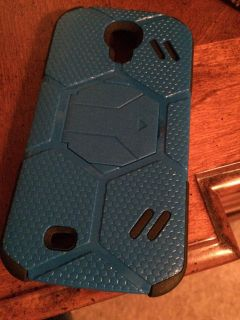 Blue and Black Galaxy S4 Phone Case