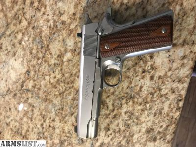 For Sale/Trade: Remington R1 stainless 1911