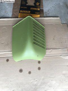 Rear corner piece for single cab
