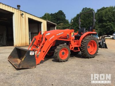 2015 (unverified) Kubota L3901D 4WD Tractor