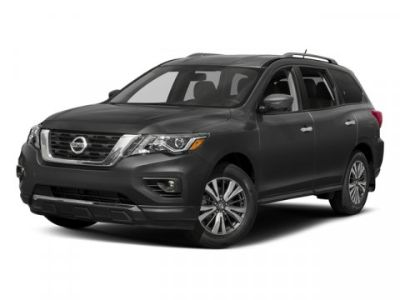 2017 Nissan Pathfinder FWD SV (Cayenne Red Metallic)
