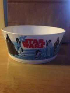 1977 Star Wars plastic bowl