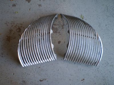 1939 Cadillac  LaSalle  L & R Front Grilles HOT ROD RAT ROD RARE 39 GRILLS WILL SHIP