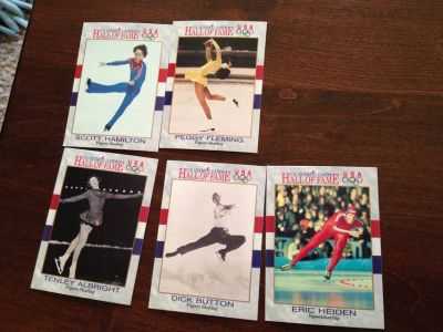 Olympic Skating Cards