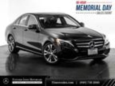 Used 2016 Mercedes-Benz C-Class Black, 36.2K miles