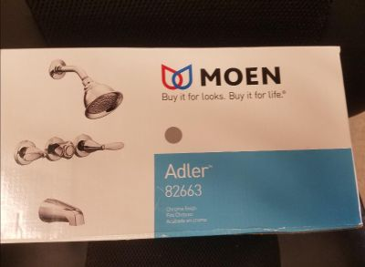 Moen Tub And Shower Faucet Set