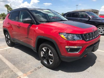 2017 Jeep All New Compass Trailhawk (Red)