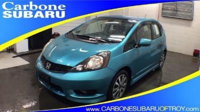 2013 Honda Fit Sport (Vortex Blue Pearl)