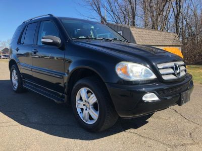 2005 Mercedes-Benz M-Class ML350 (Black)