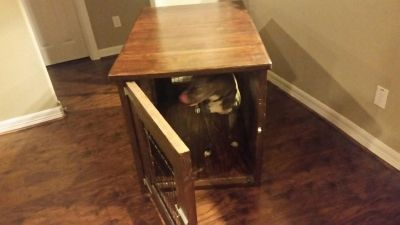 Extra large wooden dog kennel