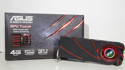 ASUS R9 290x Graphics Card