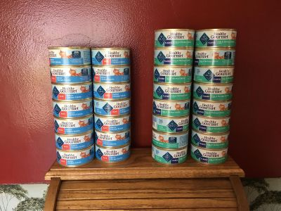 New Blue Buffalo Healthy Gourmet Wet Cat Food- 30 cans